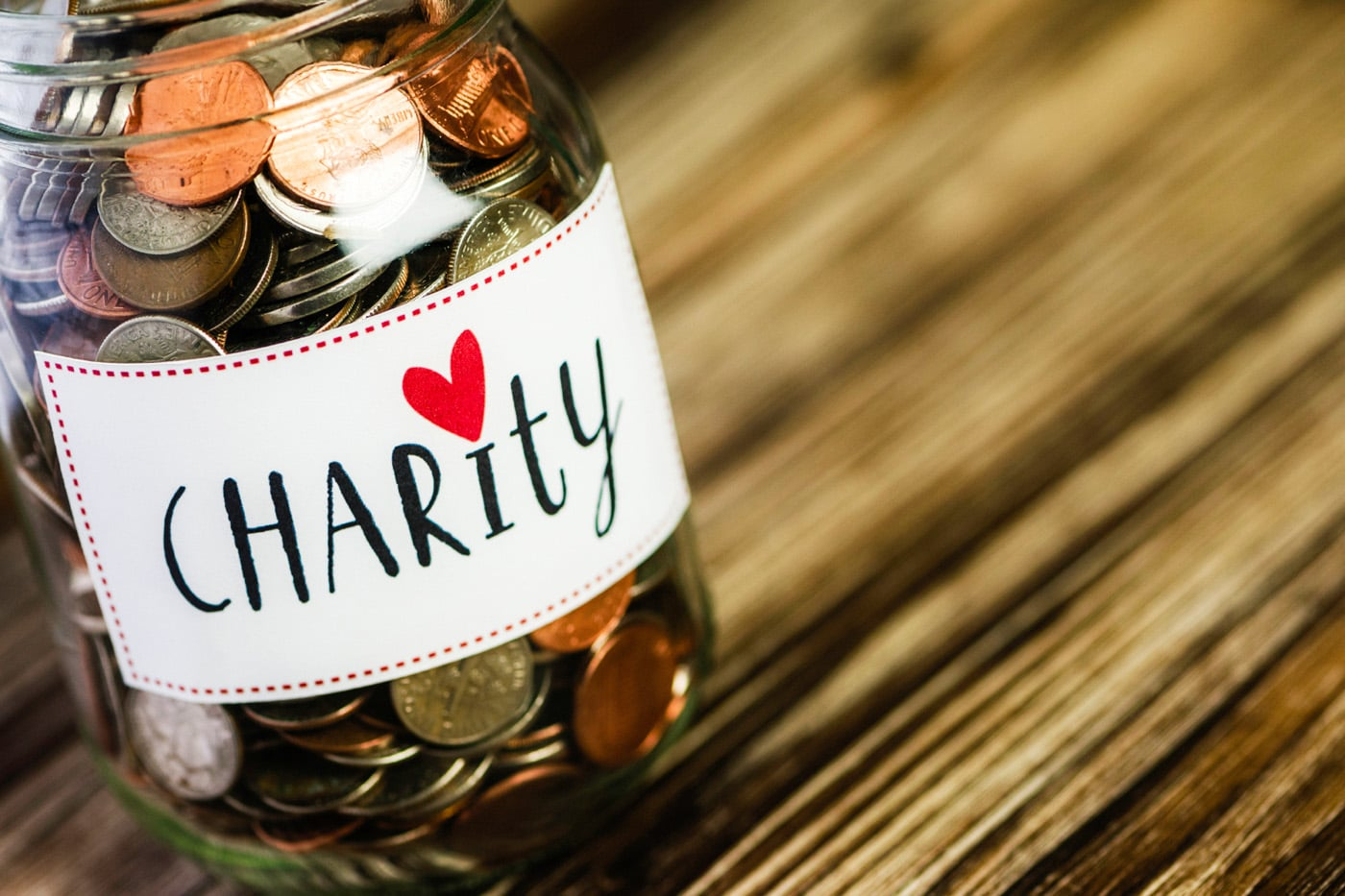 Charity coins