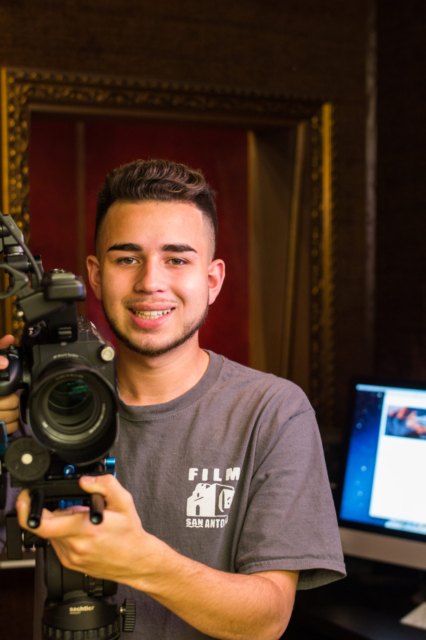 Say Sy student, film maker
