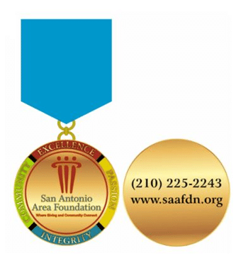 Get Your San Antonio Area Foundation Fiesta Medal
